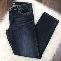 KUT From The Kloth Size 12 Katy Boyfriend Jeans Dark Wash