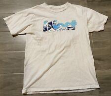 Illest Spellout Shirt Men Medium Authentic Streetwear Camo Spellout Waves Japan