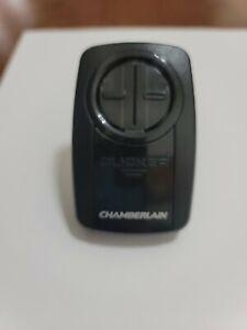 Chamberlain HBW7922 Universal 2 Button Garage Door Clicker Remote - Black