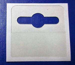 10,000 Self Adhesive 42 x 40 Euro Hang Tabs Euro / Slot / Hook Hanging Tab