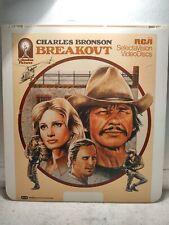 """Vintage Breakout Columbia Pictures Home Vidéo 12 """" Videodisc Film lp5469"""