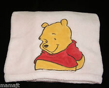Disney Baby Pink Winnie The Pooh Blanket Kidsline Red Shirt