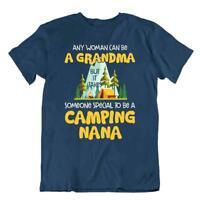 Camping Outside Trip T-Shirt Tee Gift Cool Cute Funny Outdoor Fresh Grandma Nana
