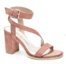 Chinese Laundry Simi Block Heel Fine Suede Sandal Size 9 NIB