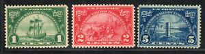 1924 US SC 614 615 616 - Huguenot Walloon Tercentenary Set of 3 - MNH F to VF