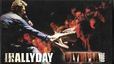 COFFRET 2 CD (LONG BOX) JOHNNY HALLYDAY OLYMPIA 2000 EDIT LIMITÉE ET NUMÉROTÉE