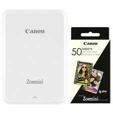 Canon Zoemini mobiler Fotodrucker in weiß + ZP-2030 (50 Blatt) NEU