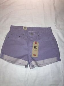 Women's Levis 501 button fly shorts, sz 27, NWT!
