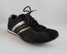 COACH Jayme Black Signature Fashion Sneakers Shoes Women's Size 5 M