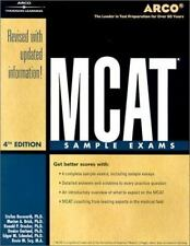 Arco McAt Sample Exams ( Academic Test Preparation Series)-ExLibrary