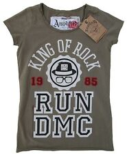 AMPLIFIED Official RUN DMC King of Rock 1985 Star Vintage ViP T-Shirt g.S 36/38