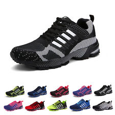 Men's Women Trainers Running Breathable Shoes Sports Casual Sneakers Athletic AU