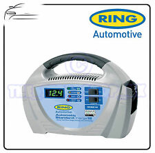 Ring 12v 12amp Automatic Standard Car Battery Charger + LED Display RCB212