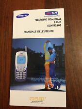 D23  Manuale d'istruzione telefono GSM dual band SGH-R2105 Samsung
