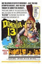 Dementia 13 Movie Poster 24in x 36in