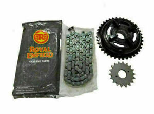 """Royal Enfield """"Chain & Sprocket Kit"""" For Bullet/Classic 500 Part # 597462"""