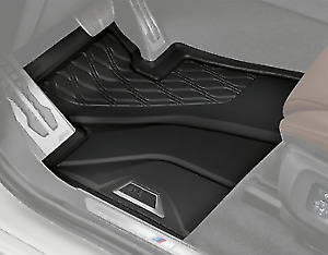 Brand New Genuine BMW G05 X5 Tailored Rubber Floor Mats Front and Rear Set of 4