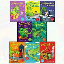 Dragonsitter Series 8 Books Josh Lacey Collection Kids Fun Read Detective New