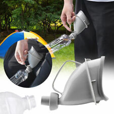 Unisex Men Female Portable Car Urinal Toilet Camp Travel Urine Bottle Pee Funnel