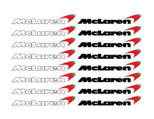 McLaren Mini Decal Set Blk & Wht