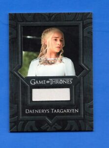 Game of Thrones Vr4 Daenerys Costume relic Card