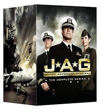 JAG: Judge Advocate General Complete TV Series Seasons 1-10 Boxed DVD Set NEW!
