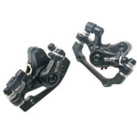 1 Pair Cycling MTB Bicycle Mechanical Disc Brake Front+Rear Calipers - 160mm