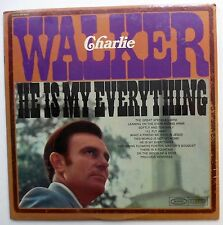 CHARLIE WALKER He is my everything LP SEALED Country Gospel