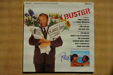 "Phil Collins Autogramm signed LP-Cover Soundtrack ""Buster"" Vinyl"