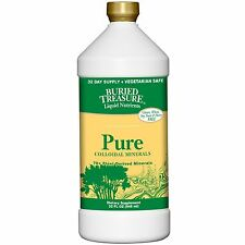 Buried Treasure, 70+ Plant Derived Minerals, Pure Colloidal Minerals, 32 fl oz