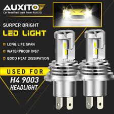 AUXITO H4 9003 LED Headlight Bulb Conversion Kit High Low Beam 6500K 24000LM EOA