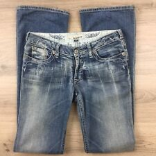 J & Company Women's Jeans Beverly Boot Cut Size 27 Actual W29 L33 (AO18)
