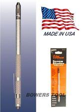 Ullman 5-3/4 in Phillips Screw Starter MADE IN USA Alloy Steel Bit Magnetic