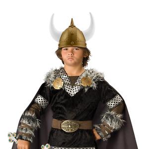 Adult Viking Warrior Horns Plastic Headgear Helmet Costume Accessory Party