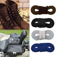 Cowhide Leather Shoelaces Shoe Strings Boot Sport Shoe Laces Cord 72 x 0.1''