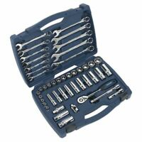 "Sealey Socket & Spanner Set 46pc 3/8""Sq Drive WallDrive Metric AK8996"