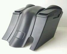 "Speaker Lids 8"" 6"" Drop Saddlebags Rt Cut out Harley Bagger Flh"