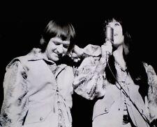 Sonny & Cher Press Photo 1966 Stamp Snipe Detroit Free Press Original Photo VTG