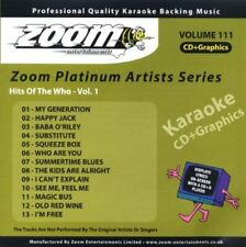 Zoom Karaoke Platinum Artists Vol. 111 CD+G - Hits Of The Who