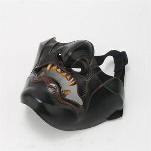Game Ghost of Tsushima Sakai Mask Devil Demon Oni Samurai Halloween Cosplay  US
