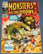 Monsters On The Prowl #10 April 1971