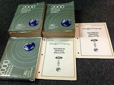 2000 Ford EXPEDITION Lincoln NAVIGATOR Shop Repair Service Manual Set W EWD & TS