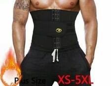 Weight Loss Corset Waist Trainer Slimming Belt Body Shaper Sauna Workout Gym Men