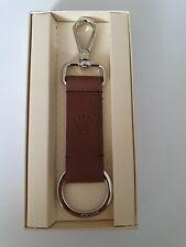 Rolex Braunes Lederschlüsselanhänger