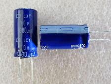 4 condensateurs 1000uF 10V 105°C low esr Chemi-Con LXY