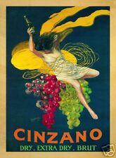 Cinzano, 1920 by Leonetto Cappiello Art Print Vintage Wine Bar Poster 15.75x21.5