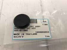 Volume knob for Sony Cdx-G1100U Cdx-G1101U Cdx-G1102U Cdx-G1150U Cdx-G1151U Etc
