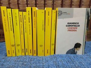 Lotto 11 libri  EINAUDI Thriller De Cataldo Carofiglio Fred Vargas Faletti NESBO