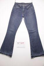 Levis 544 flare bootcut boyfriend jeans usato (Cod.U589) Tg.43 W29 L34 donna