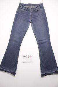 Levis 544 Flare Bootcut (Cod.U589) Tg.43 W29 L34 Boyfriend Jeans Occasion Femme